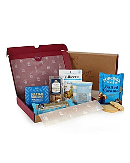 Letterbox Blue Sweet Treat Hamper