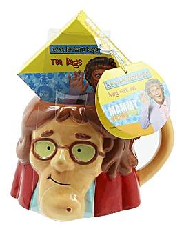 Mrs Browns Boys Shaped Mug & Tea