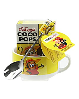 Coco Pops Bowl, Spoon & Cereal Set