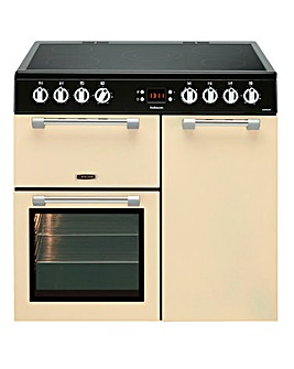 Lesiure 90cml Ceramic Range Cooker Cream