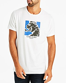 Luke Sport White Lamps Graphic T-Shirt Regular
