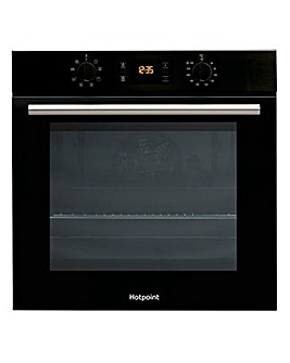 Hotpoint Class 2 SA2540HBL Electric Single Oven Black