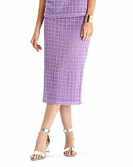 Crochet Pencil Skirt
