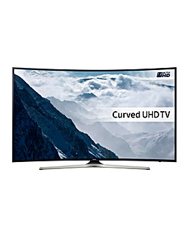 "Samsung UE65KU6100 65"" 4K Smart Curved TV"