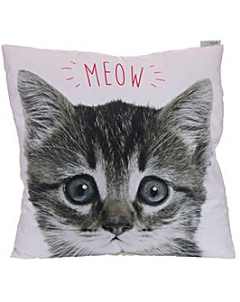 Decorative Kitten MEOW Cushion