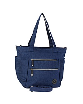 New Rebels Crinkle Nylon Shopping Bag