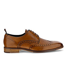 Peter Werth Leather Embossed Brogue