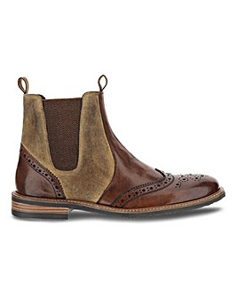 Joe Browns Rugged Leather Chelsea Boot