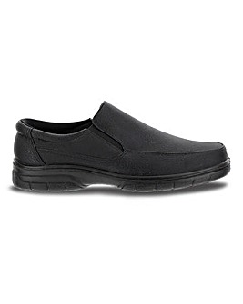 Cushion Walk Value Slip on Shoe Wide Fit