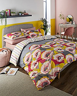 Modern Poppy Duvet Cover Set