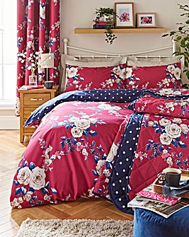 Canterbury Plum Duvet Cover Set