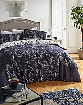 Cressida Navy Duvet Cover Set