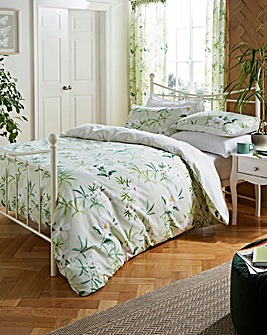 Florence Floral Reversible Duvet Cover Set