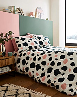 Cow Print Duvet Cover Set
