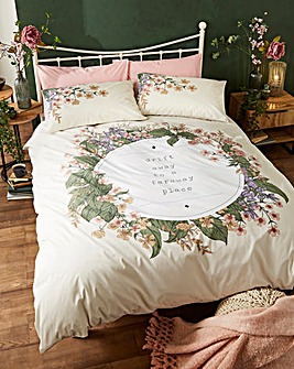 Ariana Quote Duvet Cover Set