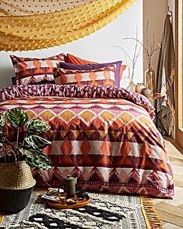 Ava Cotton Duvet Cover Set