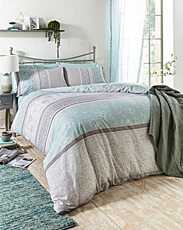 Judy Printed Duvet Cover Set