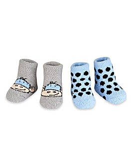 Aden & Anais Pack of Two Cosy Booties