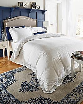 Romantica Broidery Anglais Duvet Set