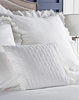 Romantica Broidery Anglais Cushion