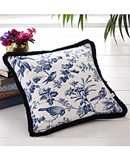 Oasis Amelia Indigo Cushion