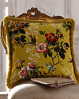 Oasis Leighton Velvet Cushion