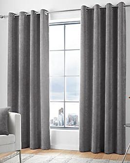 Kilbride Cord Eyelet Curtain