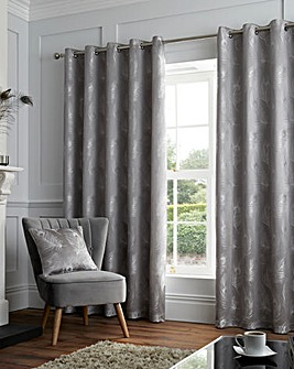 Feather Eyelet Curtain
