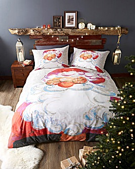 Santa Duvet Cover Set