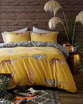 Cheetah Duvet Cover Set