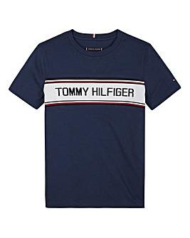 Tommy Hilfiger Boys Intarsia T-Shirt