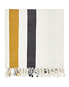 Joules Galley Grade Floral Throw