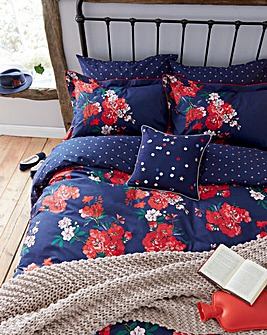 Joules Floral Reversible Duvet Cover Set