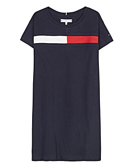 Tommy Hilfiger Girls Flag Jersey Dress
