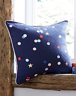 Joules Beau Floral Cushion