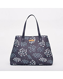 BRAKEBURN COW PARSLEY  HANDBAG