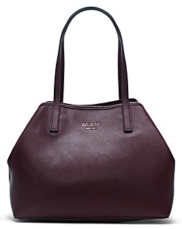 Guess Vikky Pebbled Slouchy Tote Bag