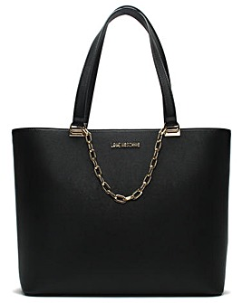 Love Moschino Large Chain Tote Bag