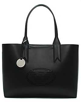 Emporio Armani Perforated Frida Shopper
