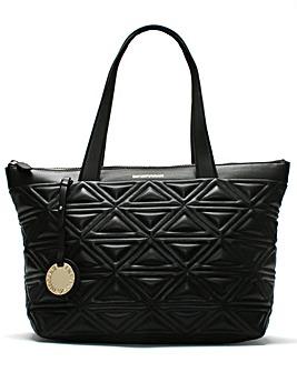 Emporio Armani Borsa Quilted Shopper Bag