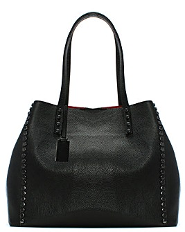 Daniel Mooch Leather Studded Tote Bag
