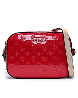Guess Kamryn Colour Block Cross-Body Bag