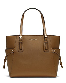 Michael Kors Logo Patterned Tote Bag