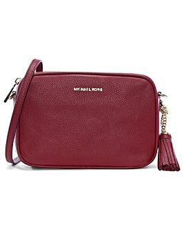 Michael Kors Pebbled Leather Camera Bag