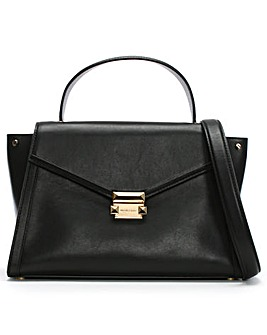Michael Kors Whitney Leather Satchel Bag