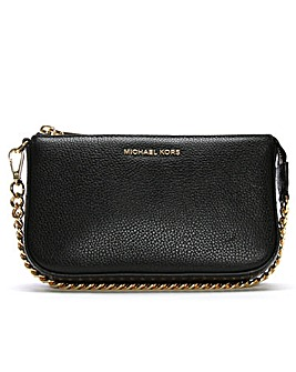 Michael Kors Tumbled Leather Pouchette