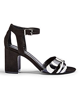 Helen Mid Block Heels Extra Wide Fit