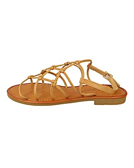 Strappy Sandals Wide Fit