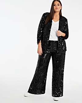 Joanna Hope Sequin Trouser