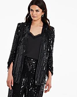 Joanna Hope Sequin Jacket